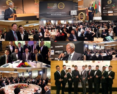 Midas Touch Asia 2015 - Guest of Honor Mr Kofi Annan